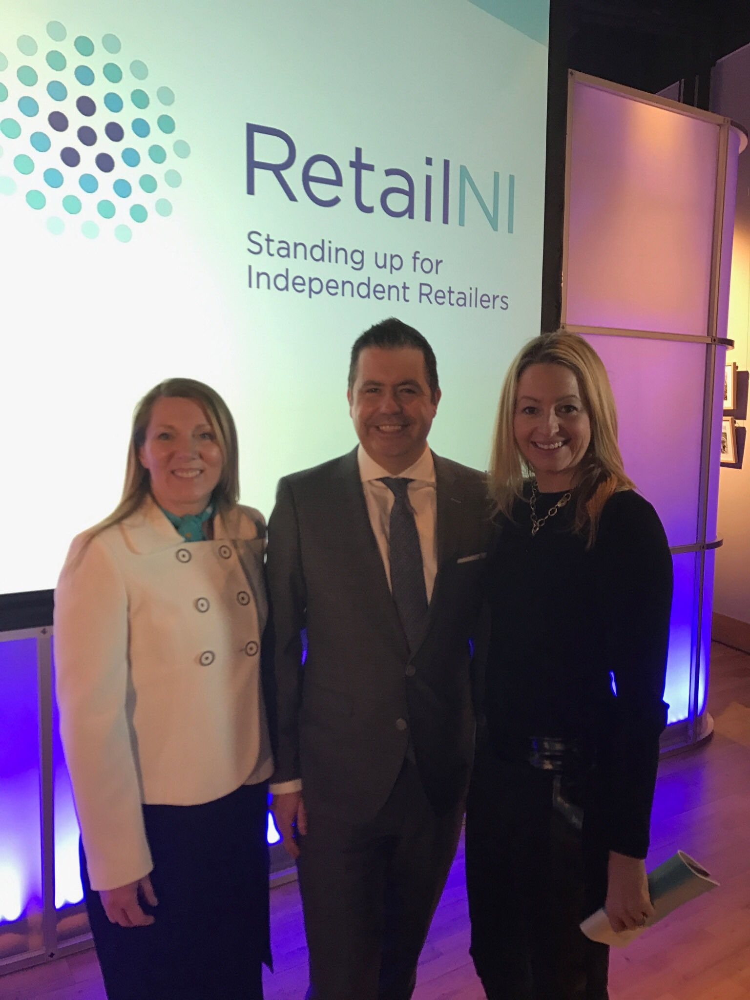 Launch event for #RetailNI at The Titanic, Belfast